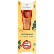 The Body Shop Sweetening Mango Lips, Hands and Nails Kit