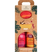 The Body Shop Bubbling Mango and Berry Bath Blends Duo