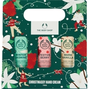 The Body Shop Christmassy Hand Cream Trio