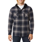 Unionbay Switchback Flannel Hoodie
