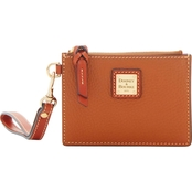 Dooney & Bourke Zip Top Card Case Wristlet