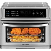 Chefman Dual-Function Air Fryer + Toaster Oven Combo
