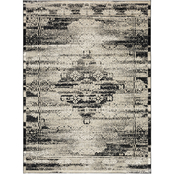 Karastan Cella Black Rug