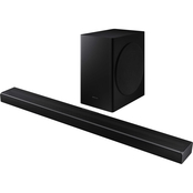 HW-Q60T 5.1 Channel Acoustic Beam Soundbar with Dolby Digital 5.1/DTS Virtual:X