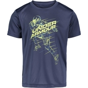 Under Armour Boys Football Player Tee