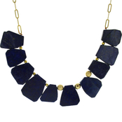 Panacea Stone Statement Collar Necklace