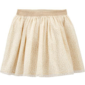 OshKosh B'gosh Girls Sparkle Polka Dot Tulle Skirt