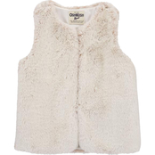 OshKosh B'gosh Little Girls Faux Fur Vest