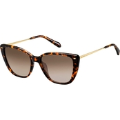 Fossil FOS2101 Cateye Sunglasses