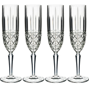 Marquis by Waterford Brady Flutes 6 oz. Set of 4