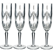 Marquis by Waterford Lacey Flutes Set of 4