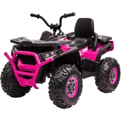 Blazin' Wheels Pink Quad ATV 12V Ride On