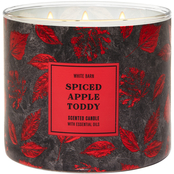 Bath & Body Works Give Thanks Foil Spiced Apple Toddy 3 Wick Candle