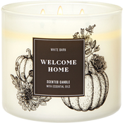 Bath & Body Works Give Thanks Foil Welcome Home 3 Wick Candle