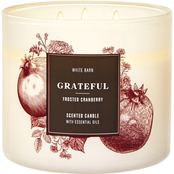 Bath & Body Works Give Thanks Grateful  3 Wick Candle