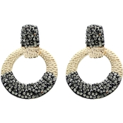 Panacea Luxe Mini Door Knocker Earrings