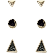 Panacea Drusy Stud Earrings Set