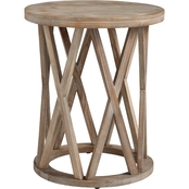 Signature Design by Ashley Glasslore Round End Table