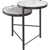 Signature Design by Ashley Plannore Round End Table