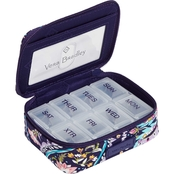 Vera Bradley French Paisley Travel Pill Case