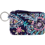 Vera Bradley French Paisley Zip ID Case