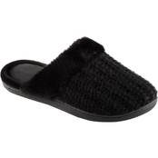 Totes Isotoner Sheila Sweater Knit Clogs