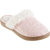 Isotoner Women's Bridget Totes Quilted Recycled Jersey Clog Slippers