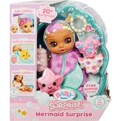 MGA Entertainment BABY born Surprise Mermaid Surprise Doll