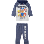 Nickelodeon Infant Boys PAW Patrol Fleece Hooded Top and Pants 2 pc. Set