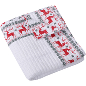 Levtex Home Rudolph Quilted Throw 50 in. x 60 in.