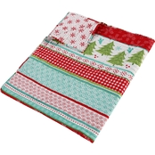 Levtex Home Let It Snow Quilted Throw 50 in. x 60 in.