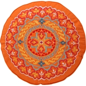 Levtex Home Mackenzie Round Orange Pillow