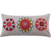 Levtex Home Rhapsody Three Medallion Pillow