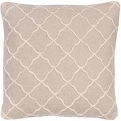 Levtex Home Palladium Rope Sparkle Burlap Pillow