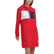 Tommy Hilfiger Exploded Logo Hoodie Dress
