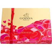 Godiva 20 pc. Rectangular Assorted Chocolates Gift Box 8 oz.