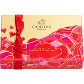 Godiva 6 pc. Rectangular Assorted Gift Box 2.4 oz.