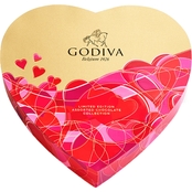 Godiva 14 pc. Heart Gift Box Assorted Chocolates 6 oz.