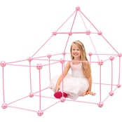Funphix Princess Castle 99 pc. Set with Bag, Sheet and Lights