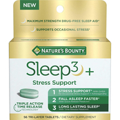 Nature's Bounty Sleep3 + Stress Support 56 ct.