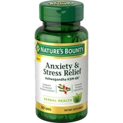 Nature's Bounty Anxiety & Stress Relief