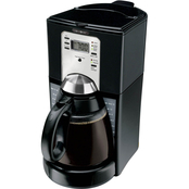 Mr. Coffee Programmable Coffeemaker with Fresh Brew Timer