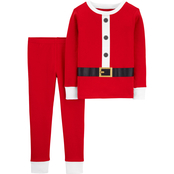 Carter's Infant Boys Santa Claus Snug Fit Cotton 2 pc. Pajama Set