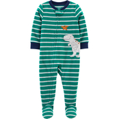 Carter's Infant Boys Dinosaur Fleece Footie Pajamas
