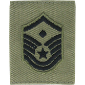 Air Force MSgt, First Sgt APECS Jacket Rank