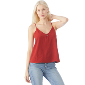 Inspired Hearts Juniors Button Layer Cami Top