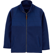Carter's Little Boys Zip Up Fleece Jacket