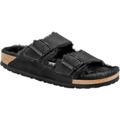 Birkenstock Women's Narrow Arizona Suede Shearling Sandals