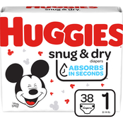 Huggies Snug and Dry Diapers Jumbo Pack