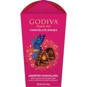 Godiva Valentine's Day 2021 Domes Assorted Flowerbox 6 ct.